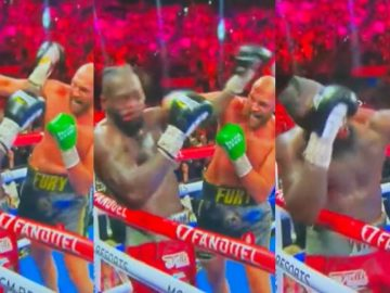 Tyson Fury Knocks Out Deontay Wilder In The 11th Round