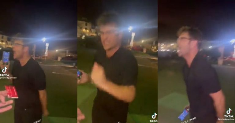 Guy Has A Insane Meltdown After Getting Kicked Out Of A Bar For Allegedly Groping A Server