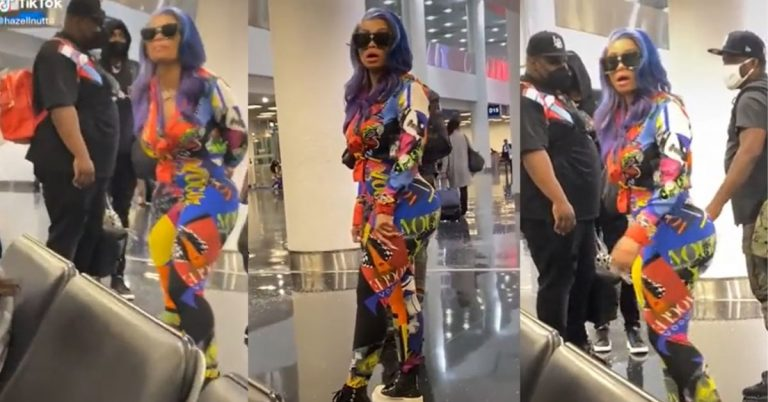 More Footage Of Black Chyna Going Off On Passengers in Miami Airport