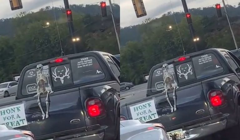 Skeet Skeet Skeleton: They 'Honked For a Treat' and This Is What They Got