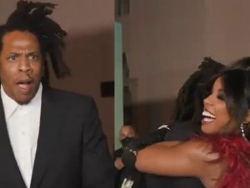 """Jay-Z's Reaction To Spotting Kelly Rowland at """"The Harder They Fall"""" Screening...is Priceless"""