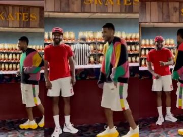 Usher Tries To Teach Floyd Mayweather Some Dance Moves