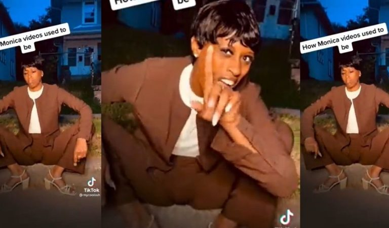 Them Heels: This Is How Monica's Music Videos Used To Be