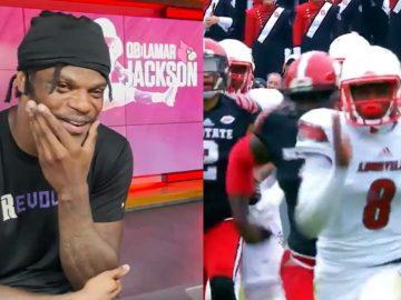 Louisville Is Retiring Lamar Jackson's No. 8.