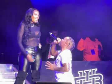 Bow Wow Gets on His Knees to Serenade Angela Simmons on The Millennium Tour