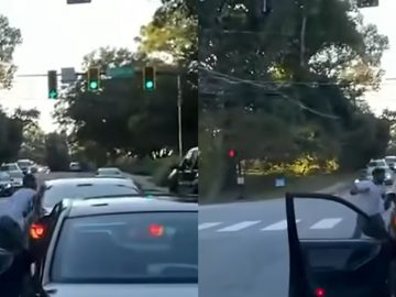 Caught on Camera: 53-Year-Old Woman Gets Punched In The Nose, Through Car Window During Road Rage Incident in Atlanta