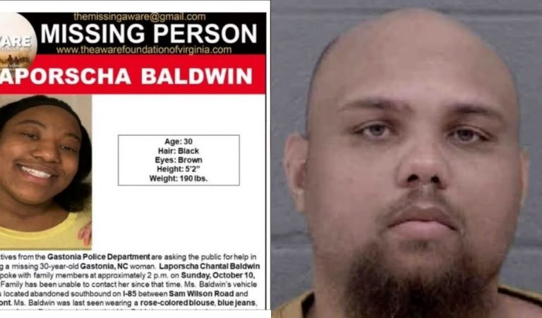 Body of Missing North Carolina Woman Found; Ex-Boyfriend Charged