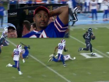 Derrick Henry Explodes on 76 Yard Touchdown Run Against The Bills