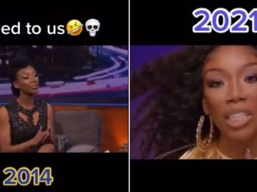 Video of Brandy on Arsenio Hall's Show Saying She'd Never Rap Again Resurfaces