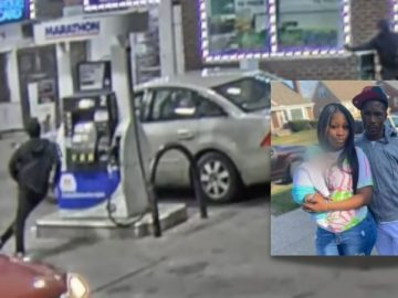 Targeted Hit: Video Shows Gunmen Shot & Kill Parents With Their Child In The Car in Detroit