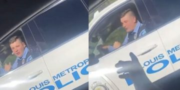 "St. Louis Cop Rolls Up Rapping & Bumping Kodak Black's ""No Flockin"""