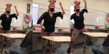 California Teacher Placed on Leave After Controversial Video Mimicking Native Americans Goes Viral