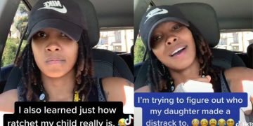 Mother Finds Out Her Daughter Can Rap and Got a Lil Ratchet In Her Too