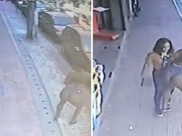 Video Shows Woman Get Assaulted By Some Random A** Cheeks While Down Sidewalk