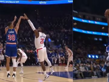 Highlights: Stephen Curry Drop 45 Points & 10 Rebounds On The Clippers