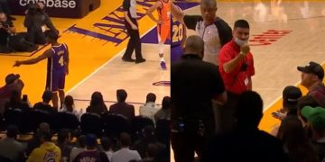 Fan Gets Ejected After Slapping Rondo's Hand During Game