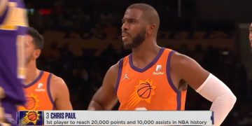 Chris Paul Makes History As The First Player to Reach 20,000 Points and 10,000 Assists
