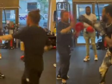 Looks Like Meek Mill Might Have Stepped His Boxing Game Up