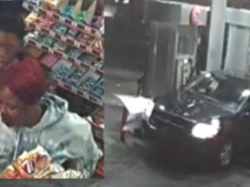Insane: Surveillance Video Shows Women Attack Gas Station Clerk; Hit Witnesses With Van