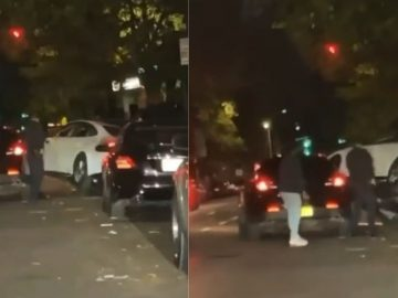 Video Shows Somebody Pulling Slick Maneuver to Get Away From Cops In NYC