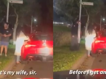 Cop Catches His Wife With Another Man During Traffic Stop