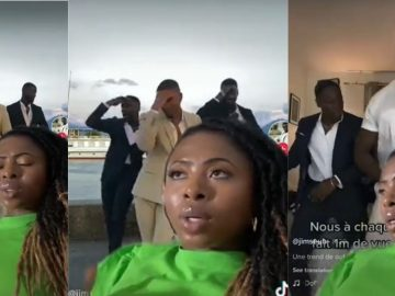 Woman Gives Her Honest Petty Review Of These Men Dancing In Suits