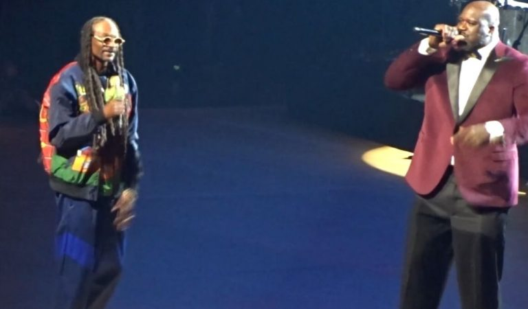 """The Diesel: Shaq Hits The Stage With Snoop Dogg To Perform """"Nuthin But A G Thang"""" Live In Vegas"""