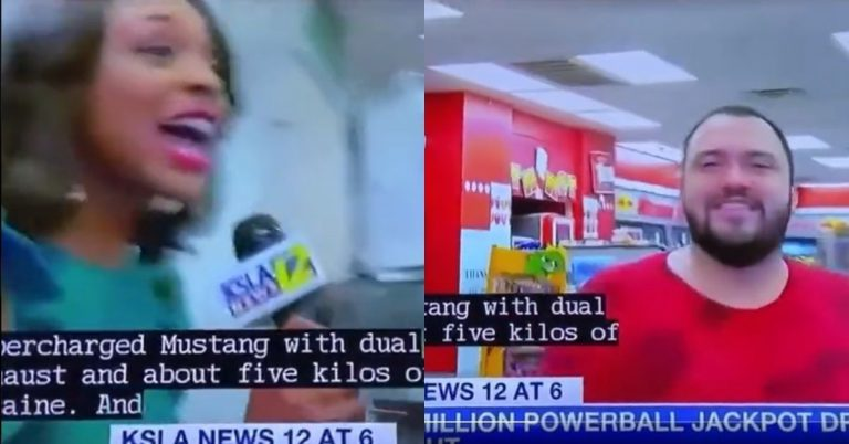 Reporter Ask Man What He Would Buy If He Wins The Lottery